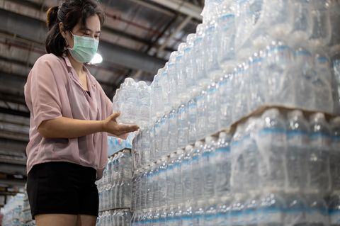 Rückruf: Mineralwasser