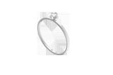 """Zu diesem tollen Ring von Maren Jewellery sagen wir nicht nur """"Ja"""", wir schreien es. Der miniSolitaire Ring aus Weißgold aus der ReMind Kollektion ist schlichte Perfektion mit genau der nötigen Portion Stil. Für rund 545 Euro bei Maren Jewellery erhältlich."""