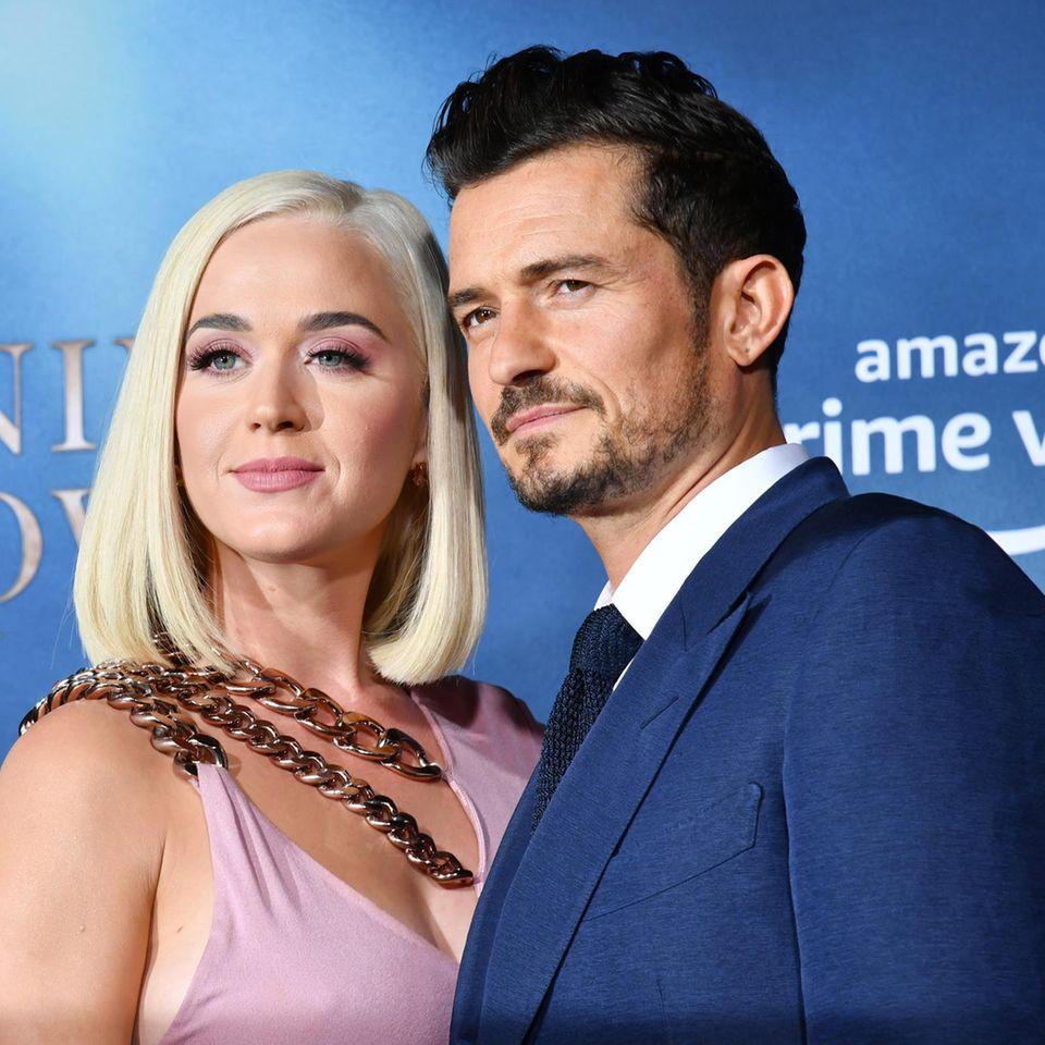 Katy Perry + Orlando Bloom