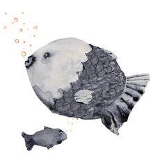 Illustration Sternzeichen Fische