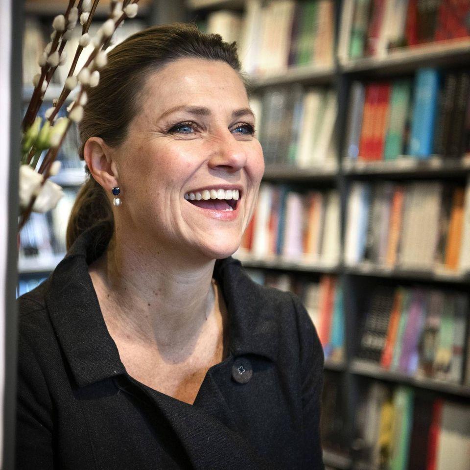 Prinzessin Märhta Louise: Umzug in die USA zu Freund Durek Verret: Prinzessin lacht