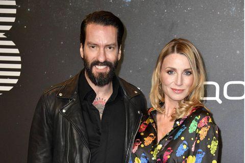 Star-Babys: BossHoss Alec Völkel mit Frau Johanna