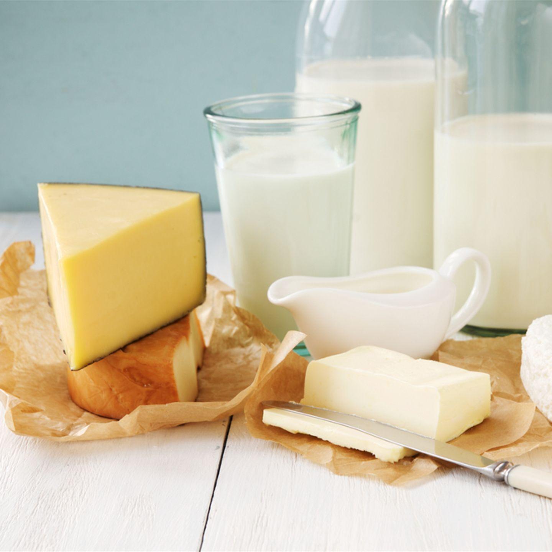 Ernährung ab 60: Milchprodukte