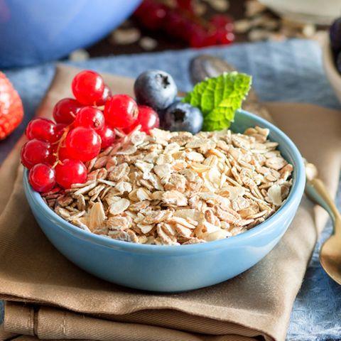 Ernährung ab 60: Haferflocken