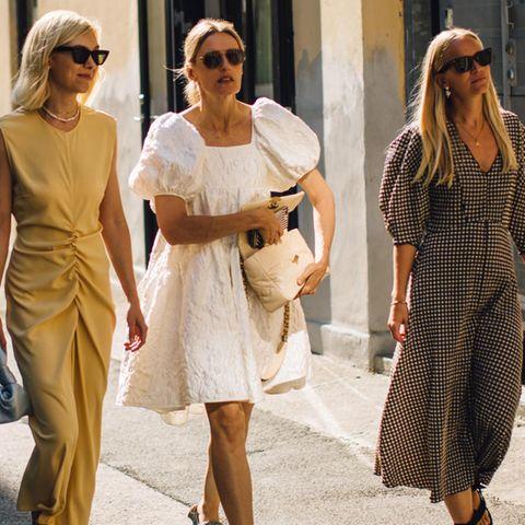 Frauen beim Spaziergang