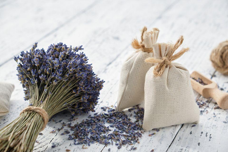 Stoffreste verwerten: Lavendelsäckchen