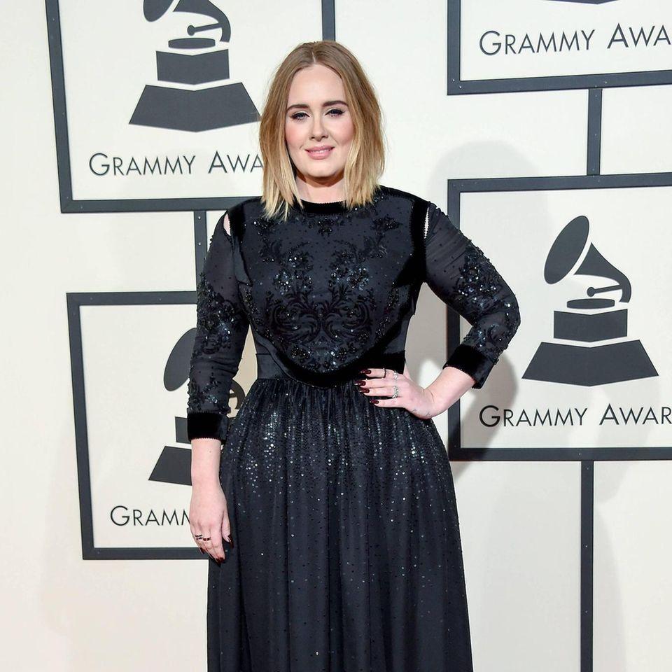Adele: Gerücht um Affäre mit Bradley Cooper: Adele auf dem roten Teppich