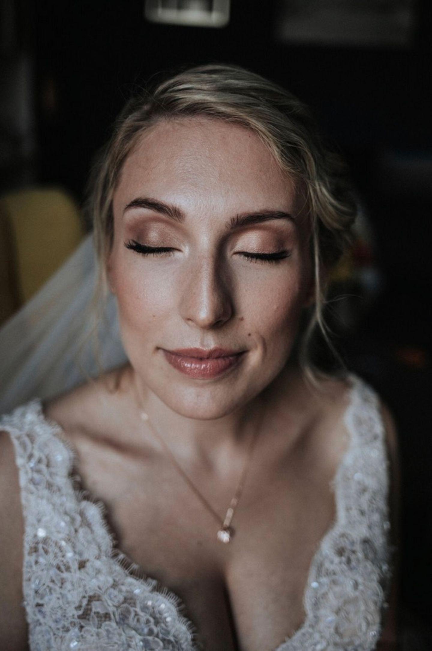 Wedding Award: Braut mit Make-up