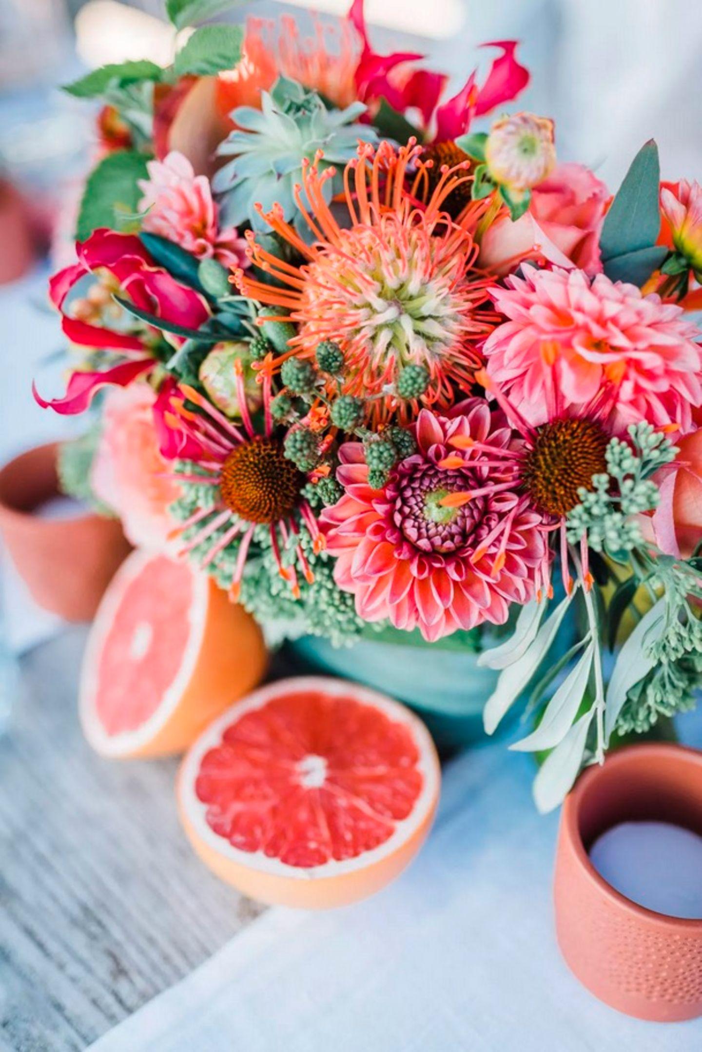Wedding Award: Blumen Tischdekoration