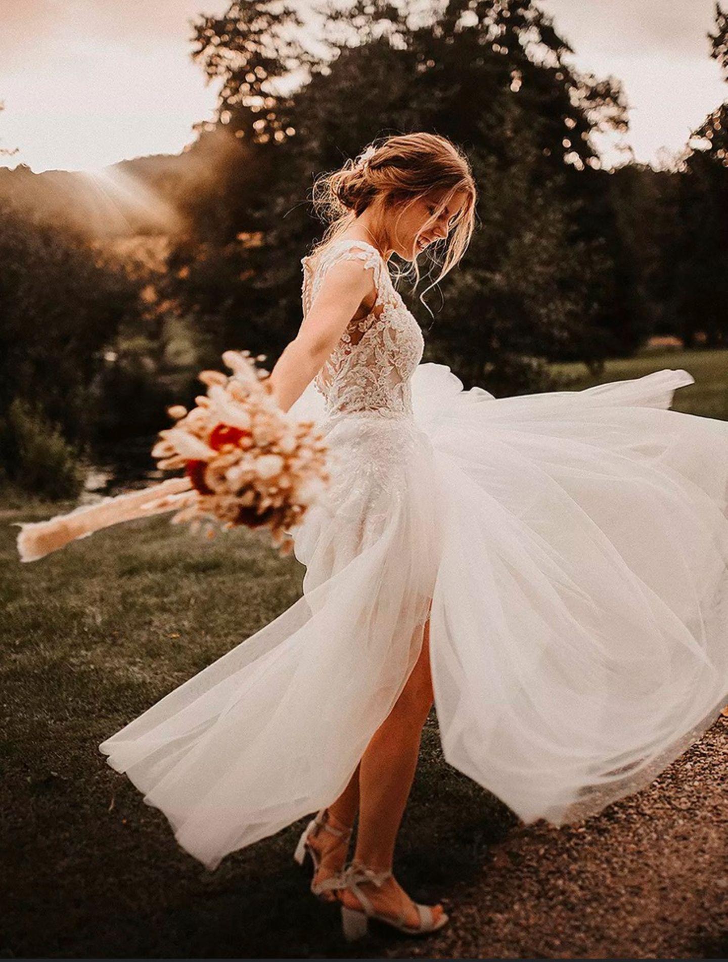 Wedding Award: Glückliche Braut