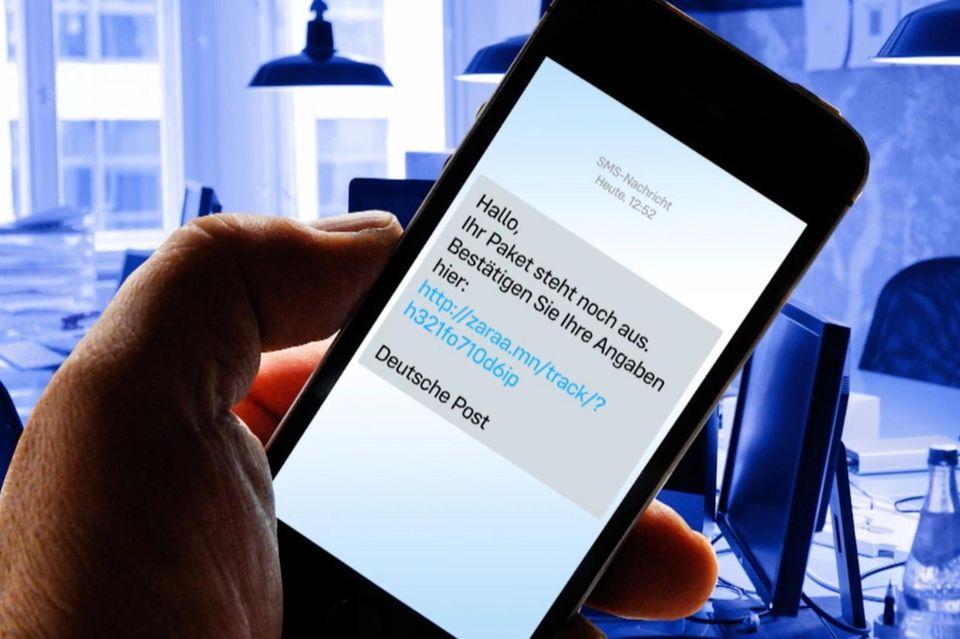 Betrüger-SMS