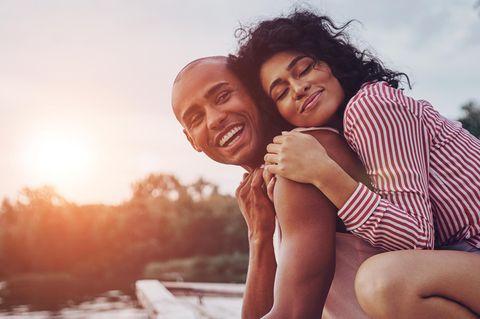 Beziehung: Glückliches Paar