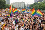 LGBTQ+-Fakten: Regenbogenflagge