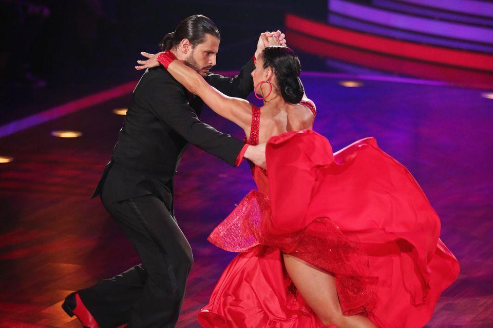 """Manuel Cortez und Melissa Ortiz-Gomez haben beim RTL """"Let's Dance""""-Finale 2013 gewonnen."""