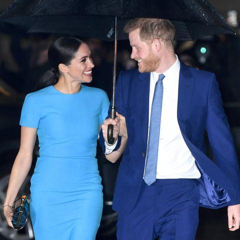 Kontroverse Trauer-Karikatur von Prinz Harry und Herzogin Meghan: Harry und Meghan zusammen