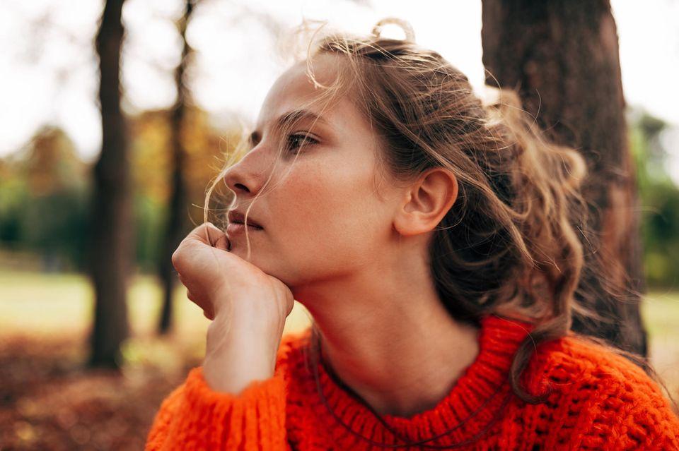 Horoskop: Eine Frau mit schlechtem Gewissen