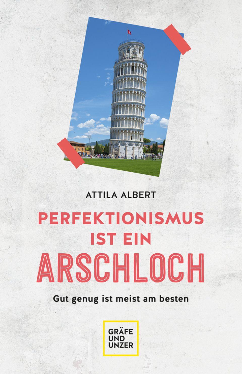 Buchcover: Perfektionismus ist ein Arschloch