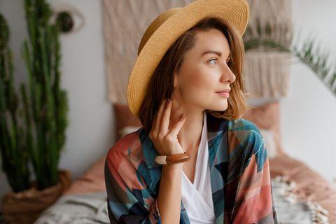Psychologie: Eine hübsche, junge Frau
