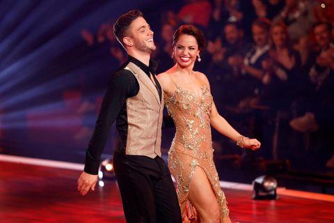 """""""Let's Dance"""": Luca Hänni und Christina Luft """"haben nur rumgezickt"""": Hänni und Luft während eines Auftritts"""