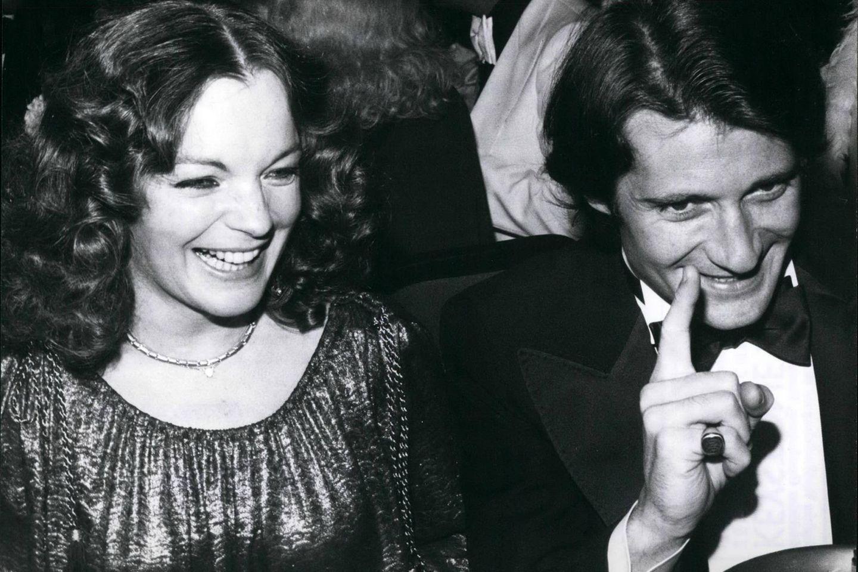 Romy Schneider: Ihr Ex-Mann verliert den Prozess gegen Alice Schwarzer: Schneider und Biasni beim Filmball 1978