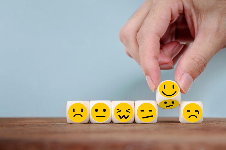 Positiver Stress: Smileys
