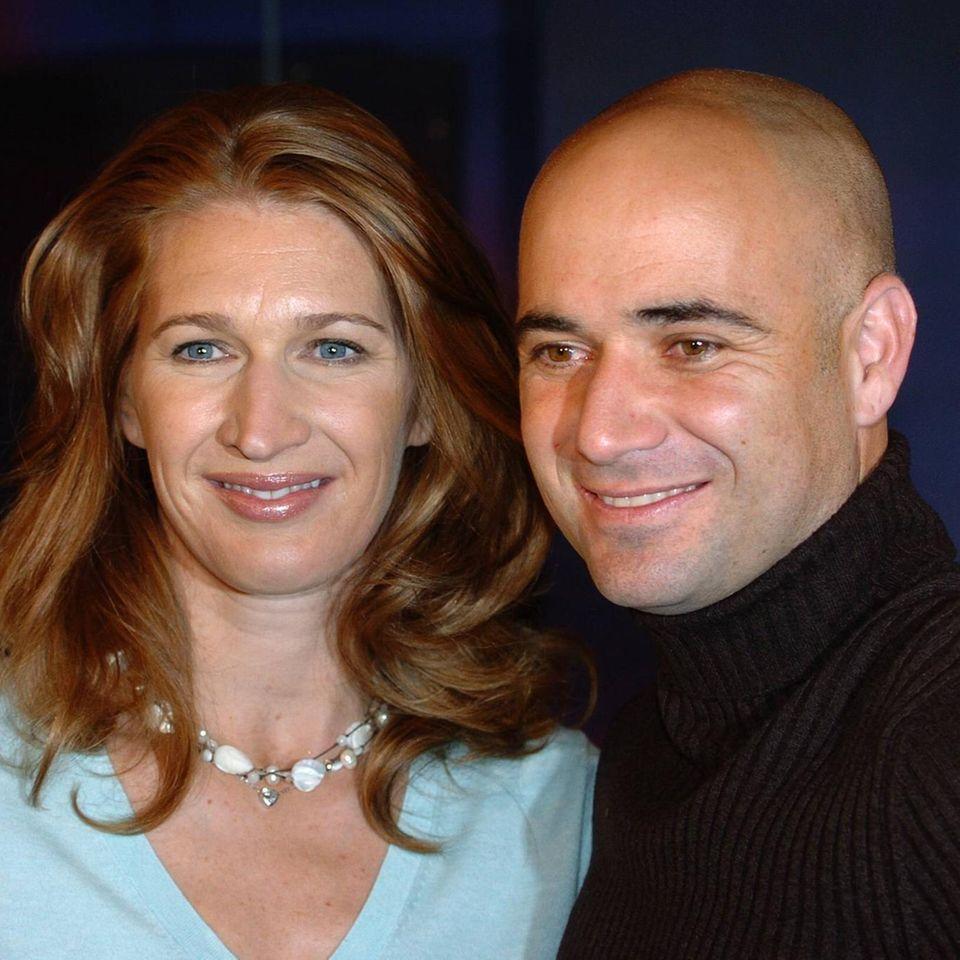 Ex-Tennisstar postet seltenen Pärchen-Schnappschuss: Agassi und Graf gemeinsam fotografiert