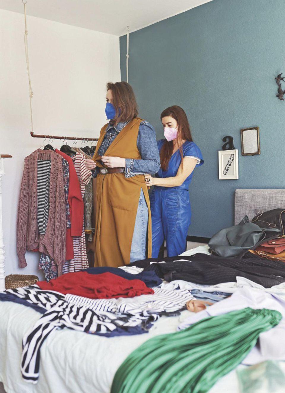 Kleidung kombinieren: Alex mit Beraterin Janine Dudenhöffer