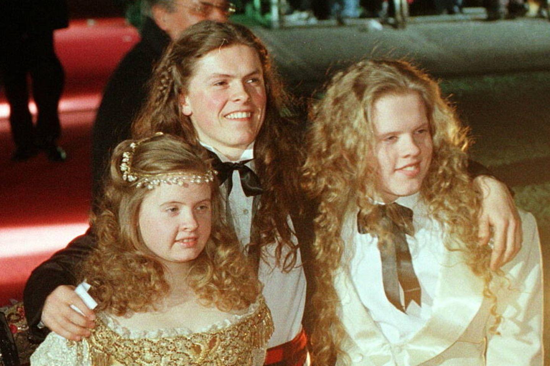 Barby Kelly: Wie sie die letzten Jahre verbrachte: Barby, Paddy und Angelo auf dem roten Teppich 1998