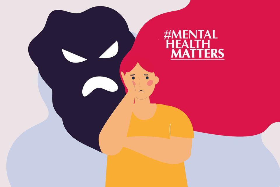 """Mental Talk mit Anna Kunze : """"Schizophrenie ist eine seelische Behinderung"""""""