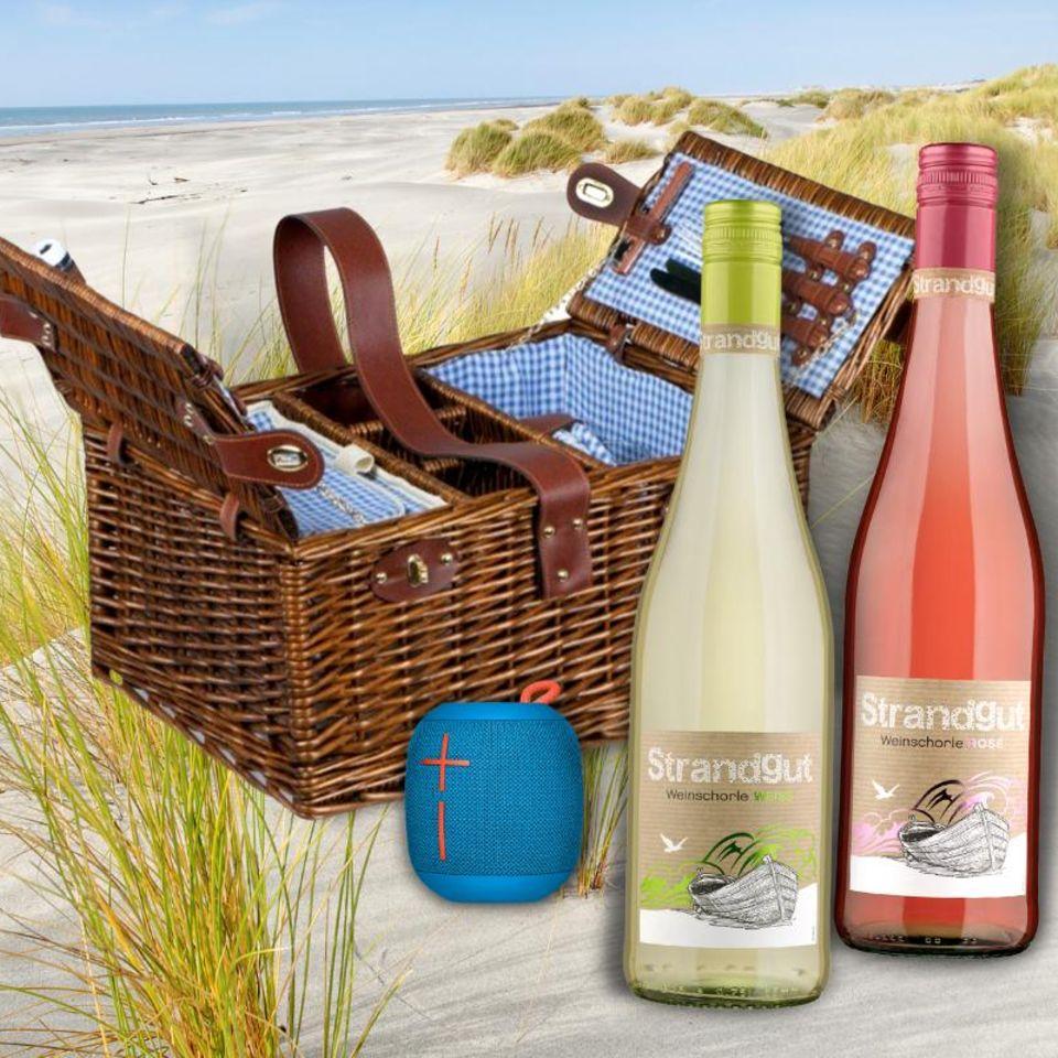 Gewinnspiel: Sommerbrise und Strandgut Weinschorle – dein perfektes Picknick