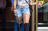 Haustiere: Lady Gaga mit französischer Bulldogge