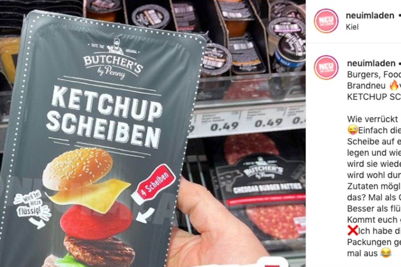 Ketchup-Scheiben: Foto von Verpackung