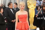 Oscar-Looks: Michelle Williams 2012