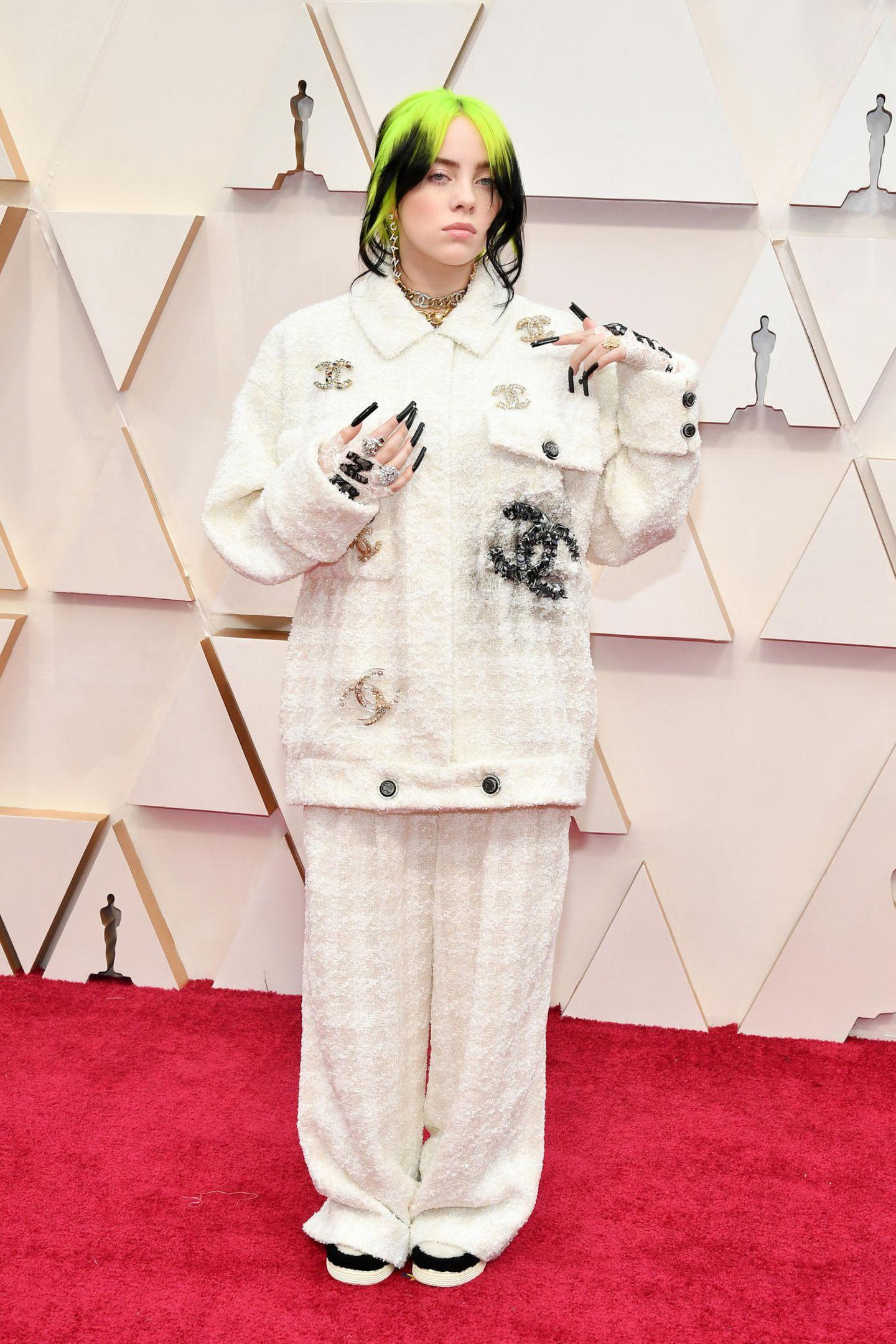 Schlimme Oscar-Looks: Billie Eilish 2020
