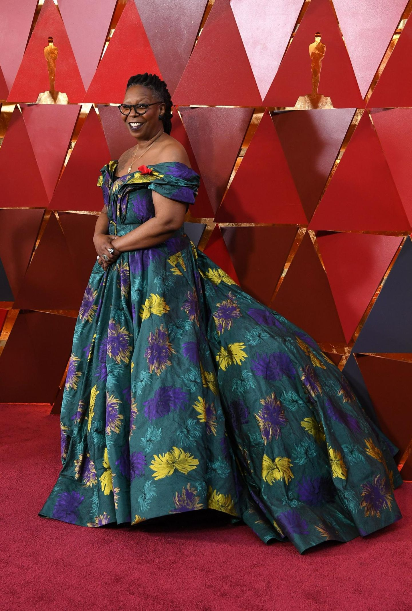 Schlimme Oscar-Looks: Whoopi Goldberg 2018