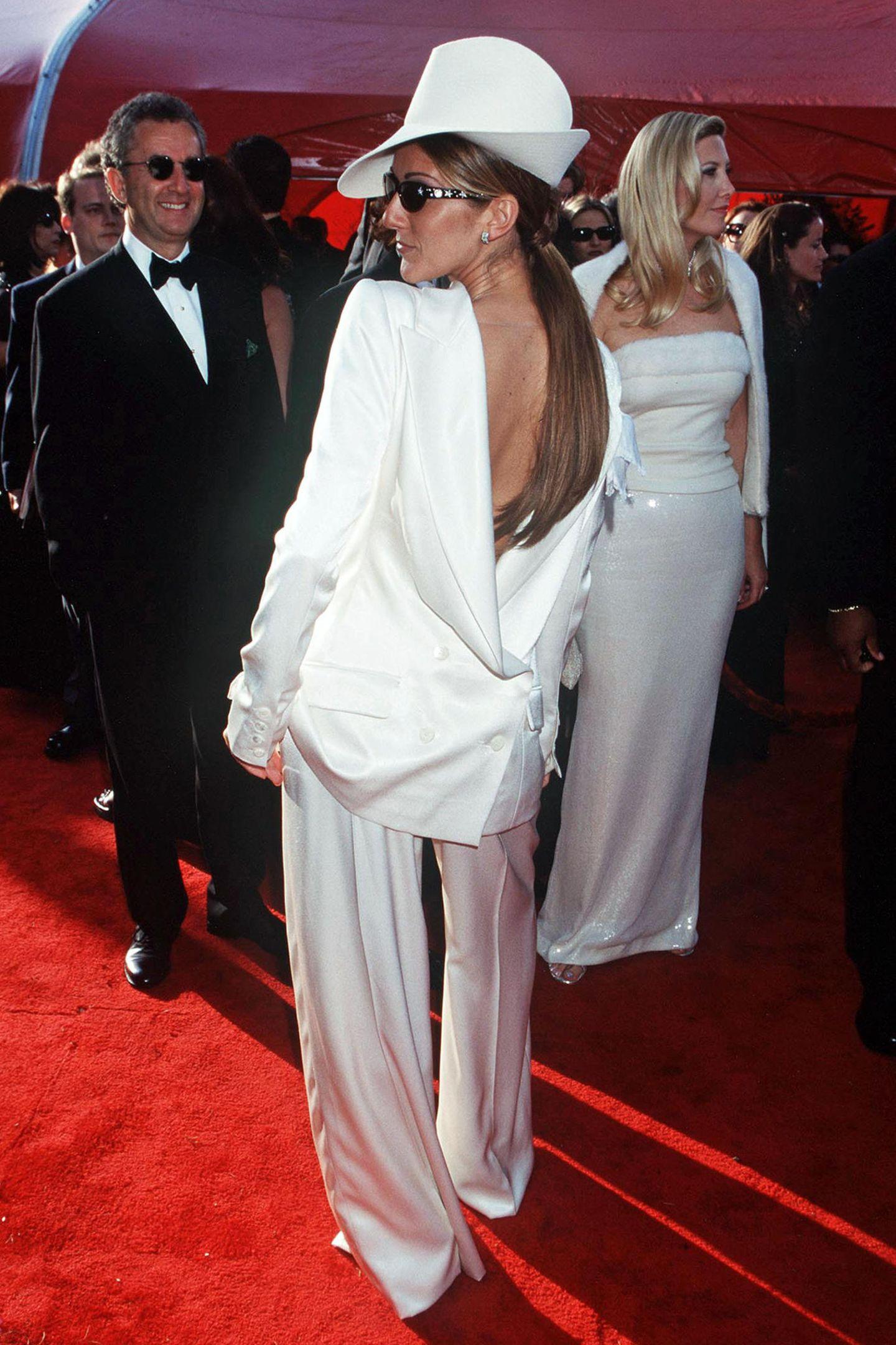 Schlimme Oscar-Looks: Celine Dion 1999
