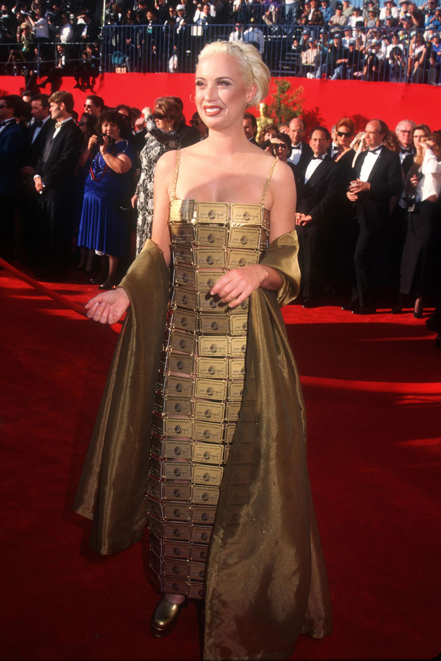 Schlimme Oscar-Looks: Lizzy Gardiner 1995