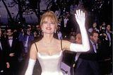 Schlimme Oscar-Looks: Geena Davis 1992