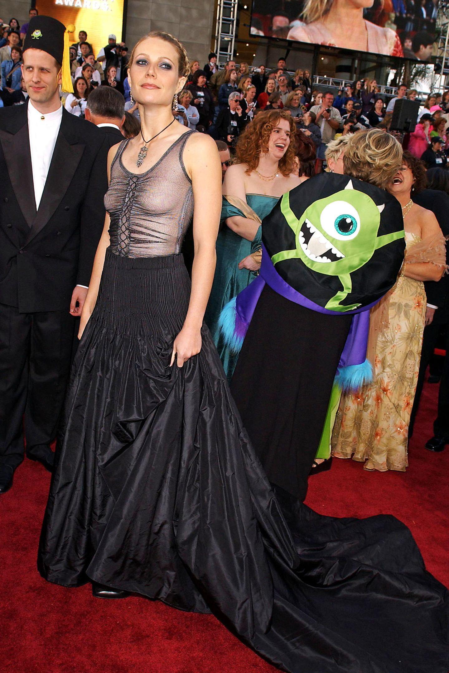 Schlimme Oscar-Looks: Gwyneth Paltrow 2002