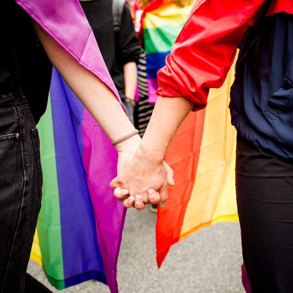 LGBTQ+: Regenbogenfahne