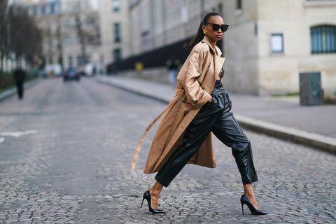 Styling-Update: So tragen wir das Trend-Piece Lederhose jetzt!