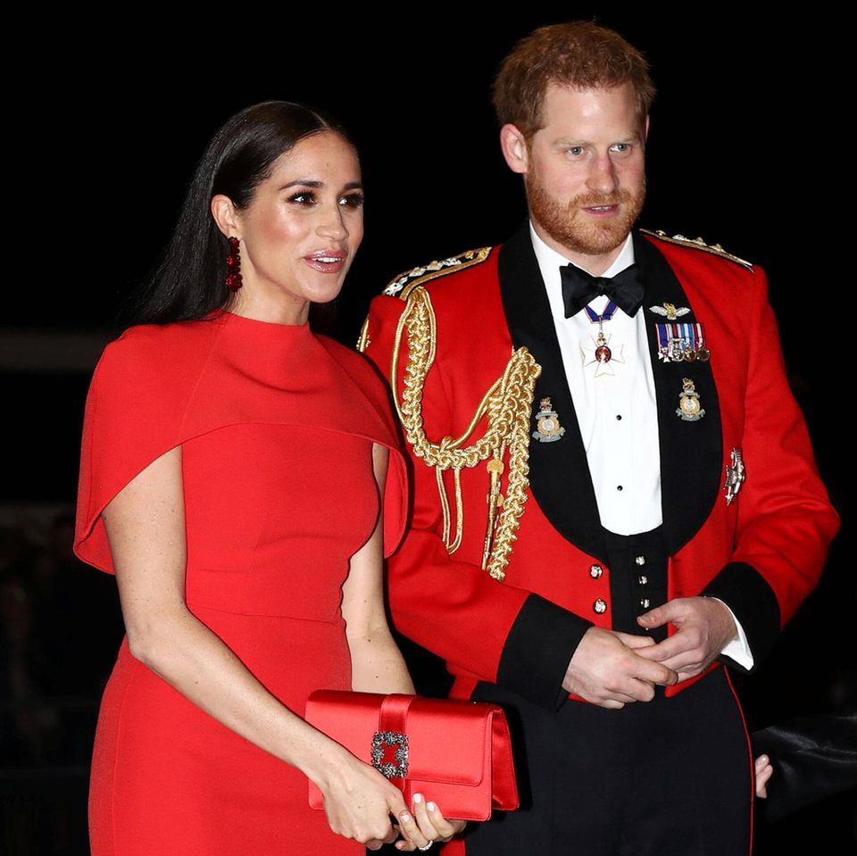 Prinz Harry + Herzogin Meghan: Haben sie im Oprah-Interview gelogen? Harry und Meghan bei einem offiziellen Termin
