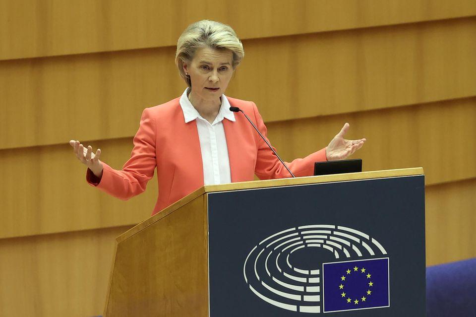 Ursula von der Leyen über Sexismus in der Politik