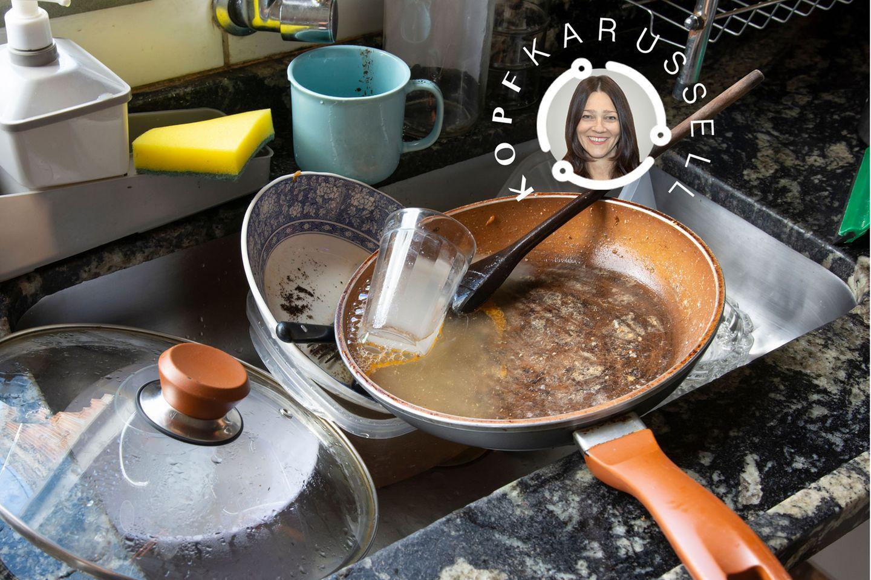 Kochen im Lockdown nervt, findet unsere Autorin