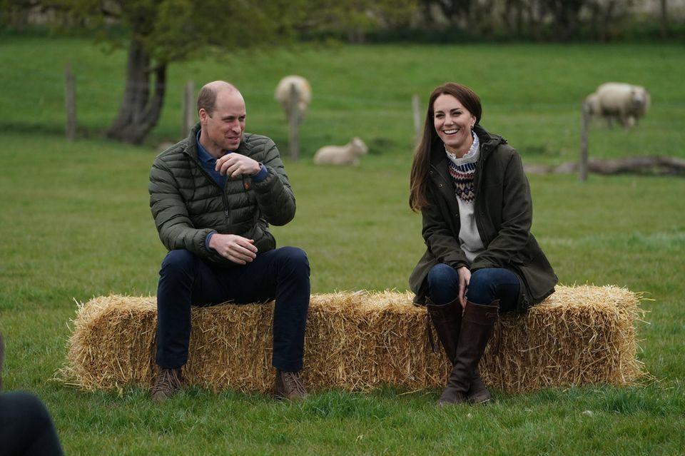 Prinz William und Herzogin Kate beim Besuch in Durham, einer Grafschaft im Nordosten Englands