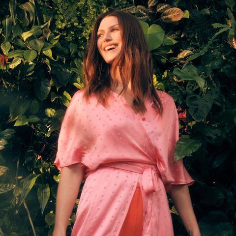 Mode-Trends im Frühling 2021: Jacquardkleid aus Viskose
