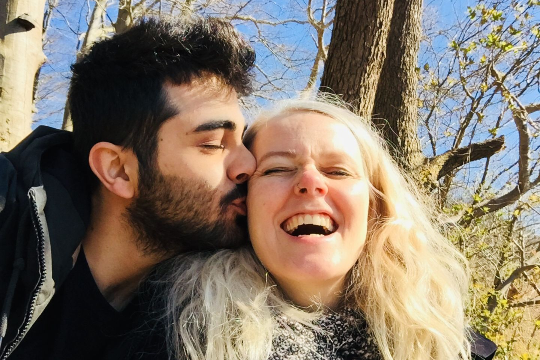 Amed Sherwan und Katrine Hopp