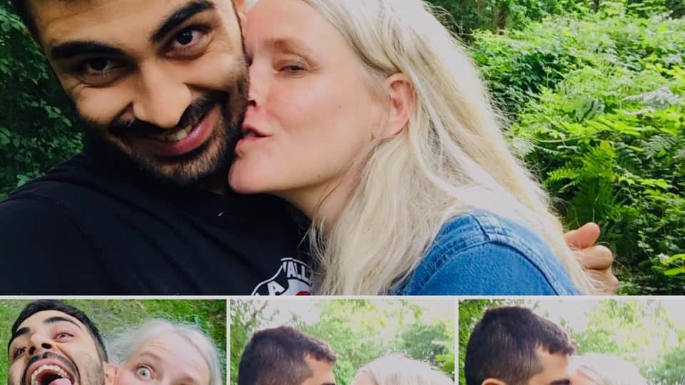Amed und Katrine stehen öffentlich zu ihrer Liebe!