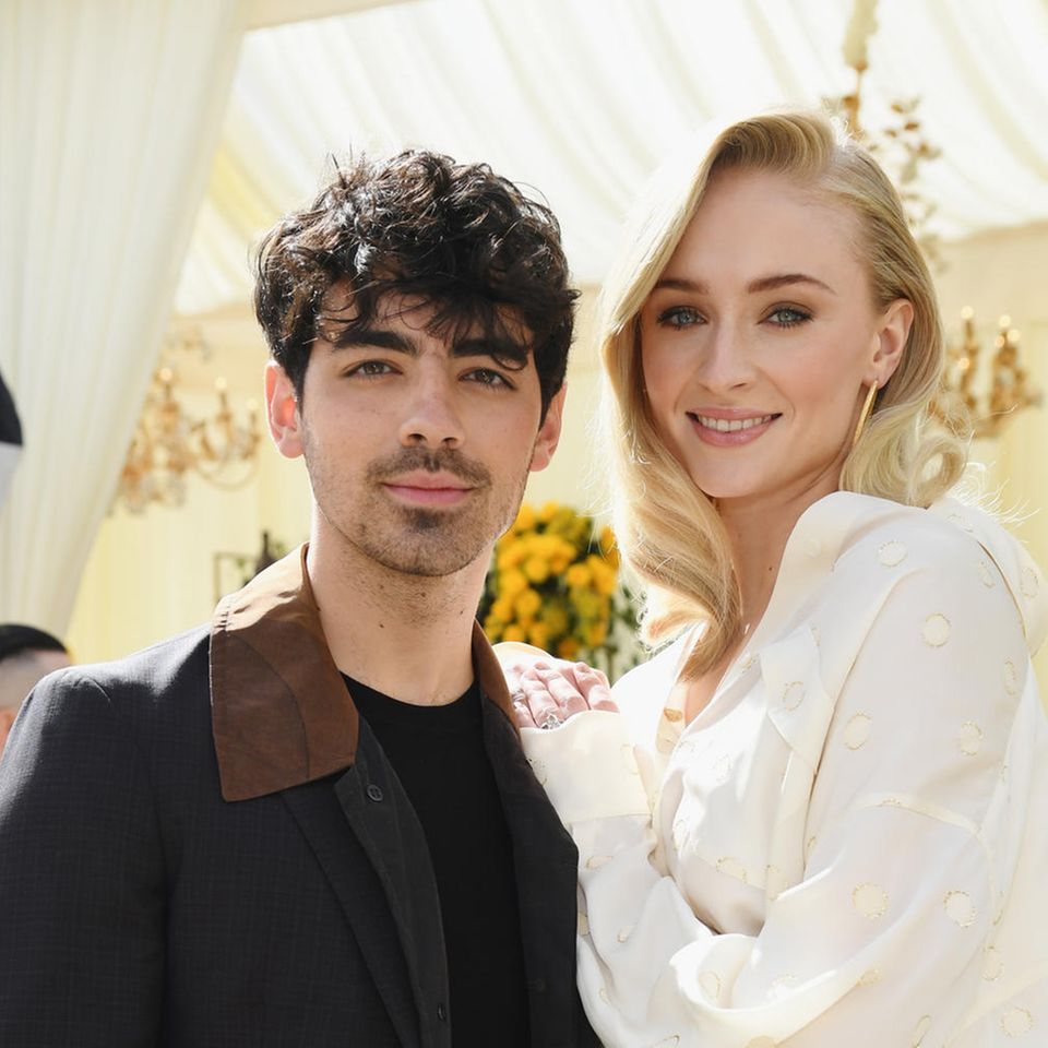 Brautkleider der Stars: Sophie Turner und Joe Jonas