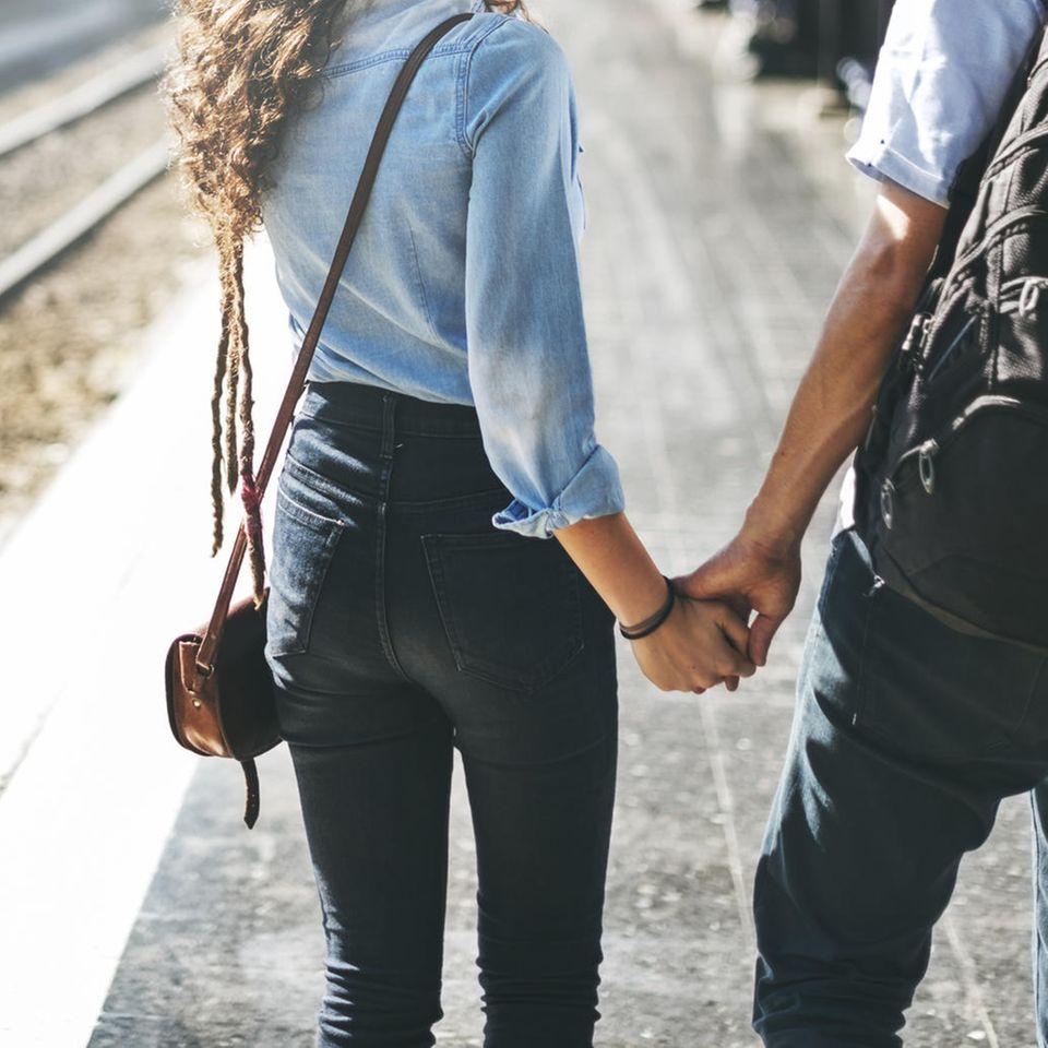 Fernbeziehung auf Dauer: Liebespaar